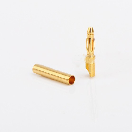 2.0MM banana plugs (short) resistant 40A/10A 7U thick gold plating