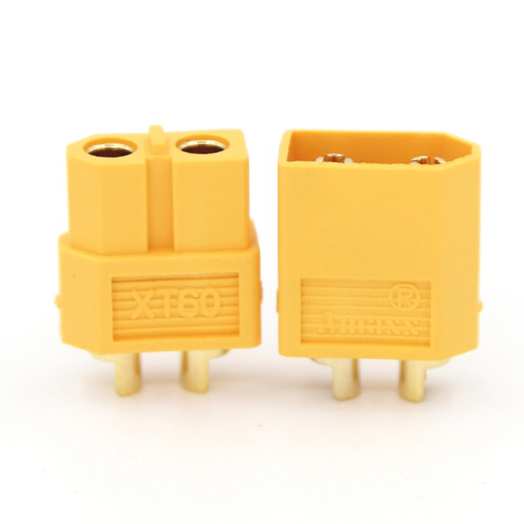 XT60 plug, male and female plug, male and female plug, model car and vessel, large current connector battery electric connector